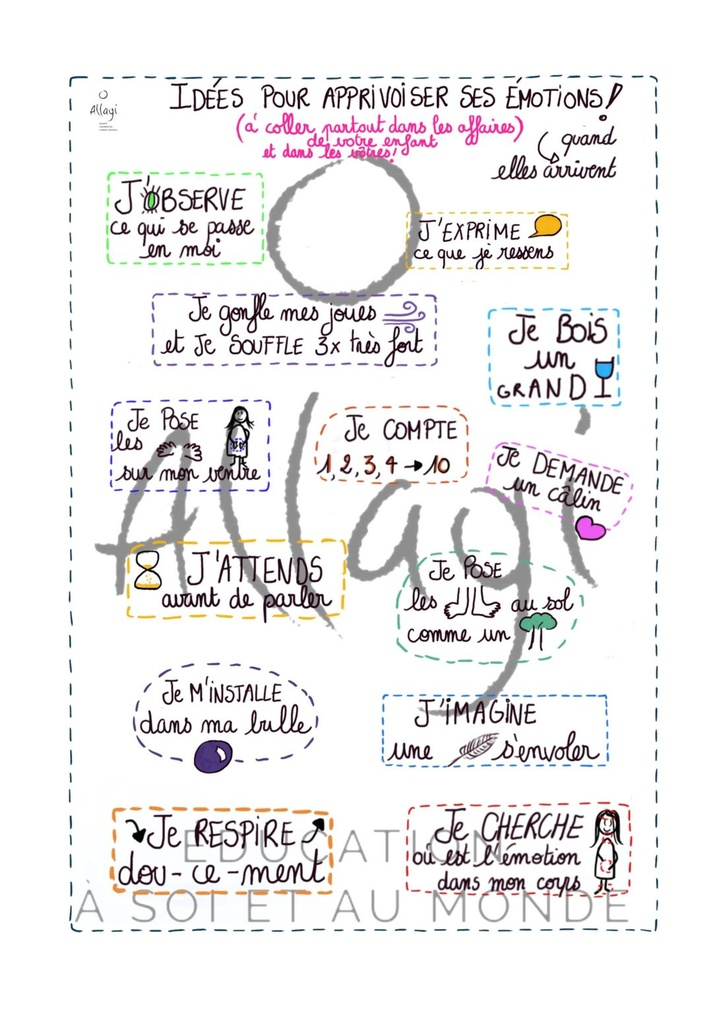 Allagi - Stickers encouragement enfants